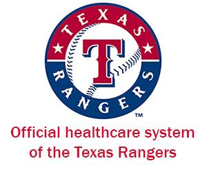 Official healthcare system of the Texas Rangers