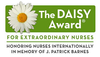 The DAISY Award for Extraordinary Nurses. Honoring nurses internationally in memory of J. Patrick Barnes