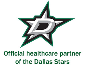 Official healthcare partner of the Dallas Stars